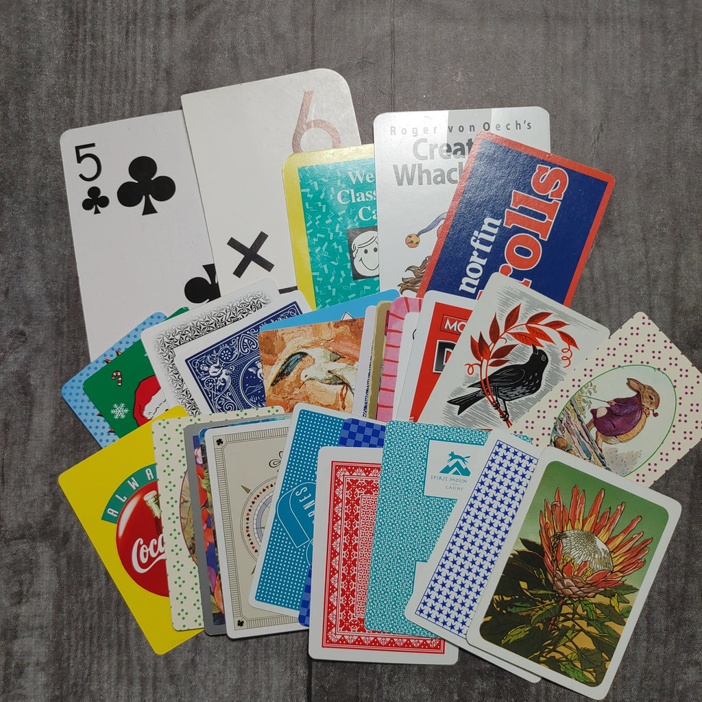 30 Assorted Playing Cards- Barb H.