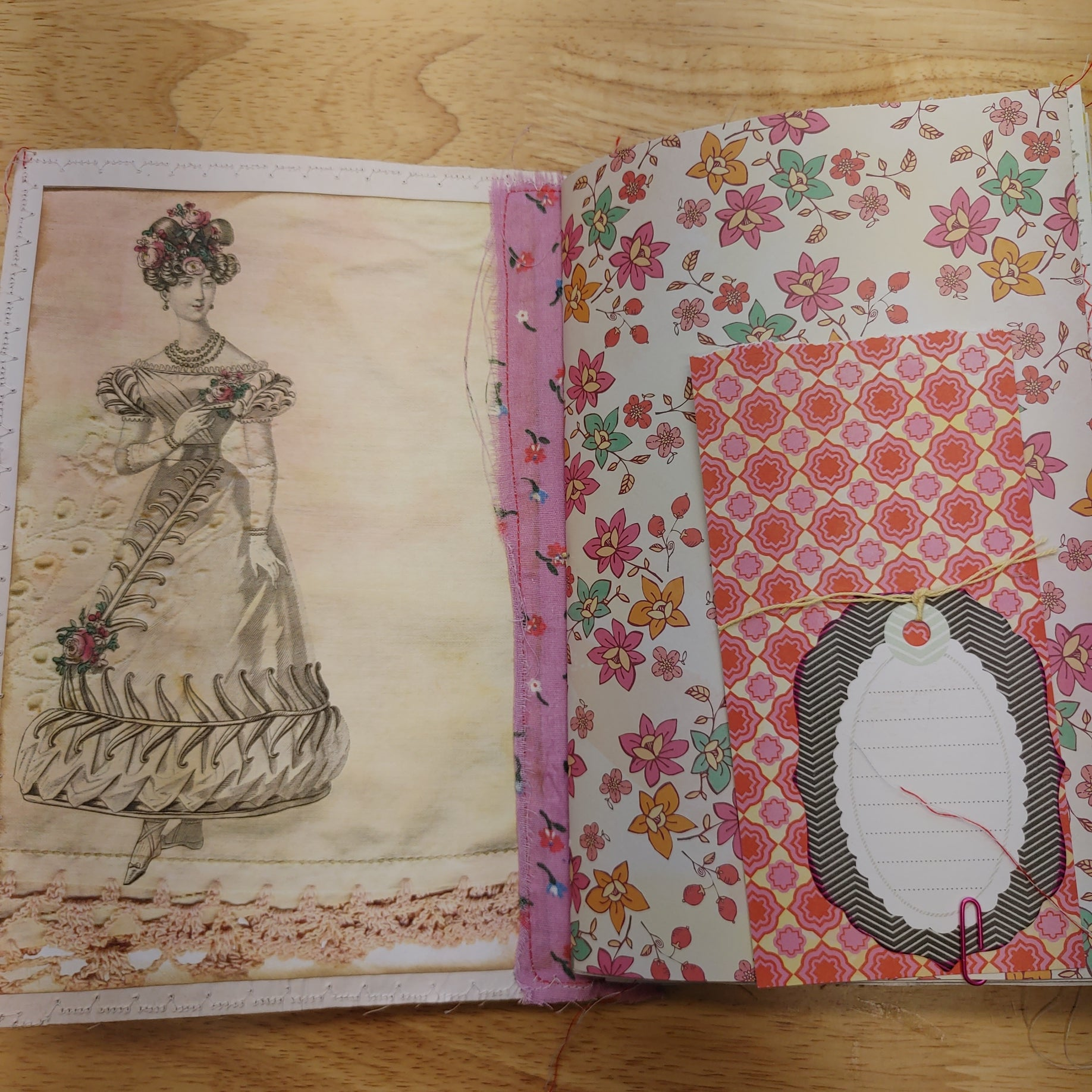 Floral Tea Junk Journal - LZ