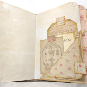 Vintage Memories Junk Journal by Sandie Gedrose