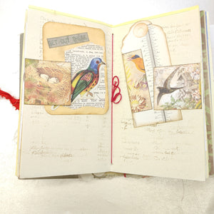 Bird Junk Journal by Barb Plude