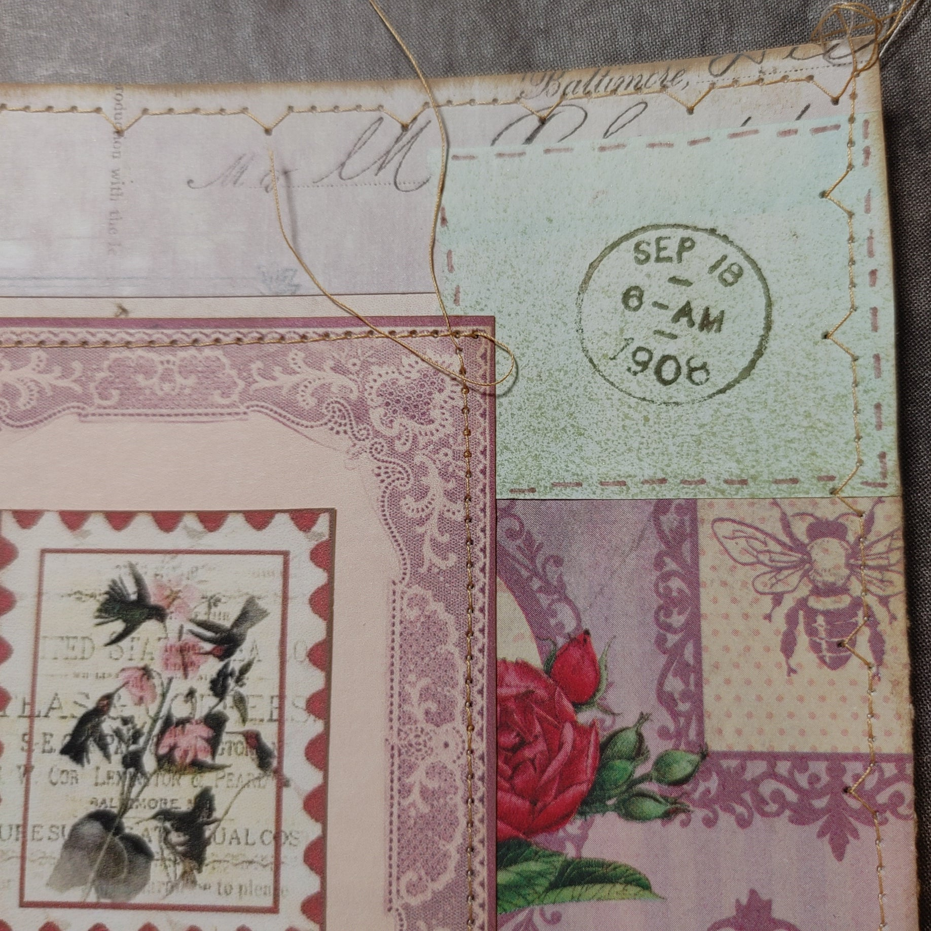 Miscellaneous News Collaged Journal Cover Front