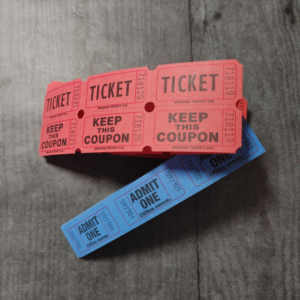 Red & Blue Tickets - Barb H.