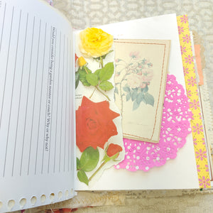 Blooming Rose Junk Journal - LZ