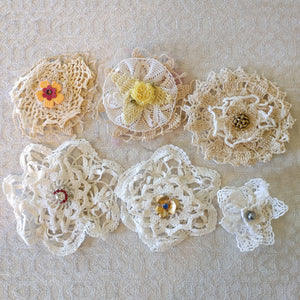 Doily Flowers - Barb H.