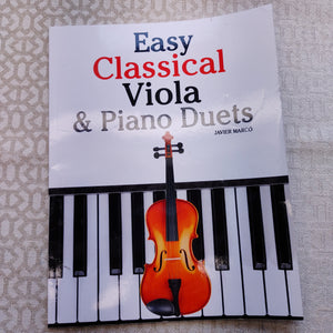 Easy Classical Duets Music Book - LZ
