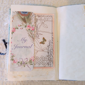 Pretty as a Peacock Junk Journal by Diana Smith *