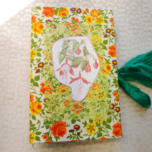 Brightly Floral Junk Journal by Barb Plude