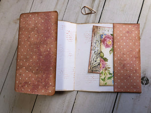 2 Piece Shabby Chic  Folder Set - JH