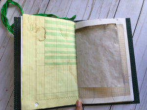 Budget Junk Journal with Fabric - JH