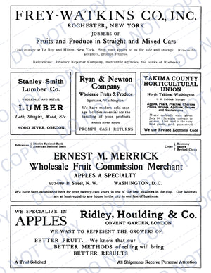 1911-12 Fruit Publication Ads - DIGITAL