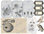 Birds & Bees DIGITAL Junk Journal Kit