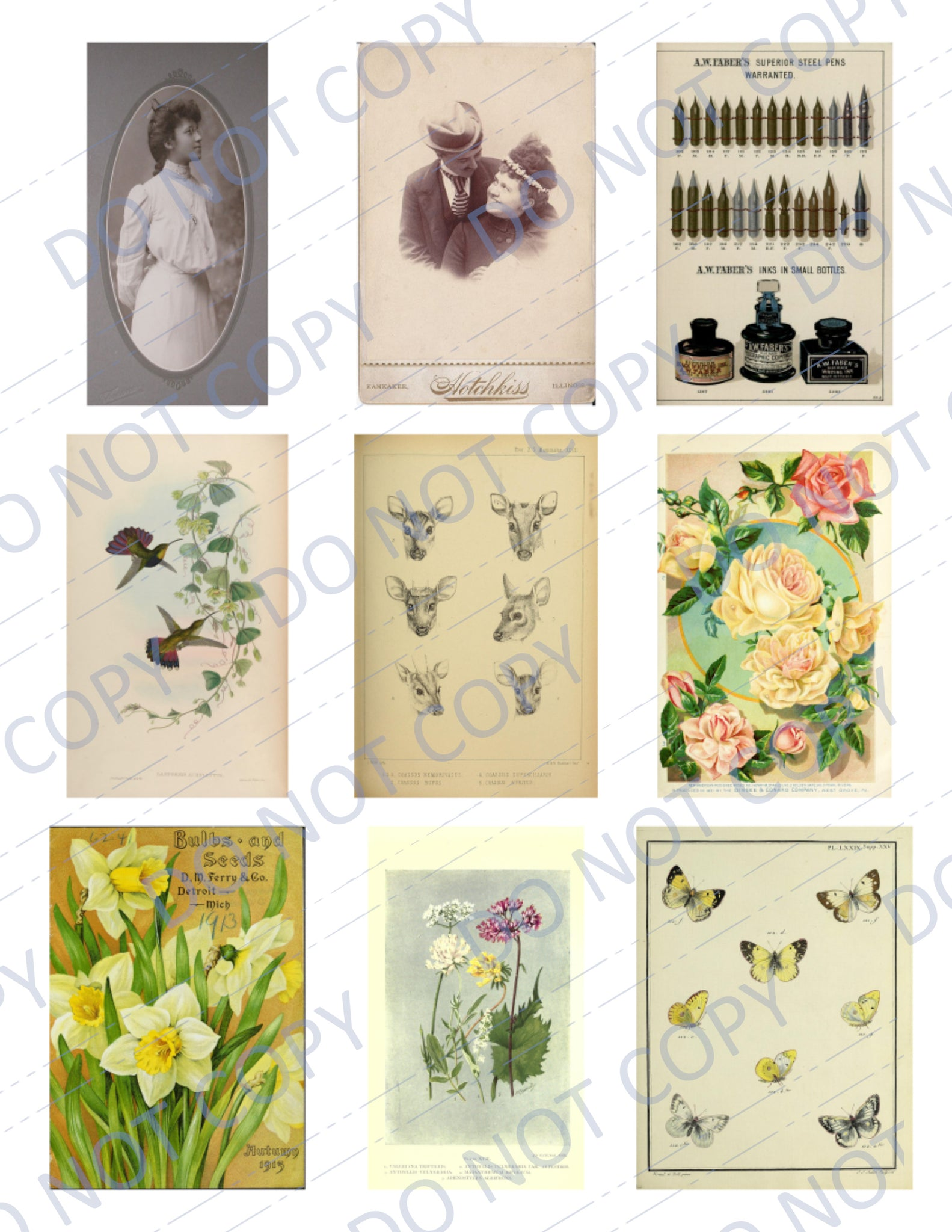 Dear to My Heart DIGITAL Ephemera Pack - 45 Images