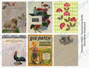 Country Peace PRINTED Journal Kit