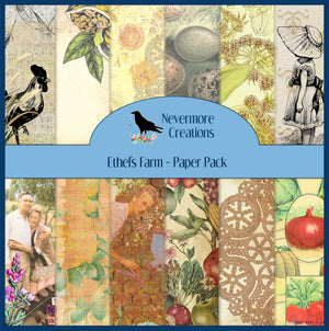 Ethel's Farm PRINTED Paper Pack