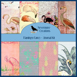 Flamingo Fancy PRINTED Journal Kit