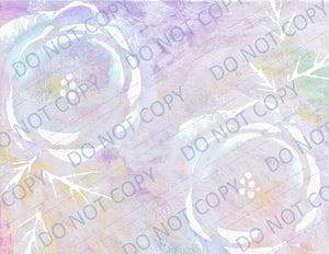 Frosted Flowers PRINTED Paper Pack