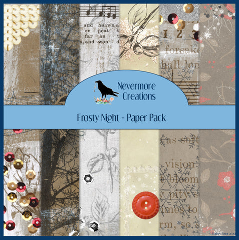 Frosty Night PRINTED Paper Pack