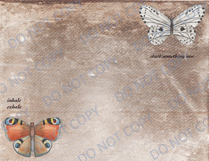 Inspirational Butterflies PRINTED Paper Pack