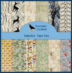 Limberlost: A Woodland Themed PRINTED Paper Pack - 24 pages!!!
