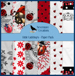 Little Ladybugs PRINTED Paper Pack