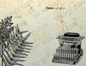Nature's Diary PRINTED Journal Kit
