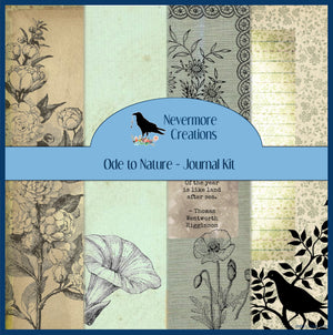 Ode to Nature PRINTED Journal Kit