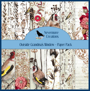 Outside Grandma's Window PRINTED Paper Pack