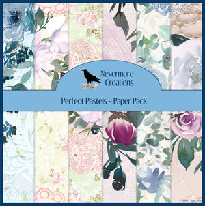Perfect Pastels PRINTED Paper Pack