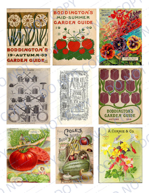 Plant a Garden DIGITAL Ephemera Pack