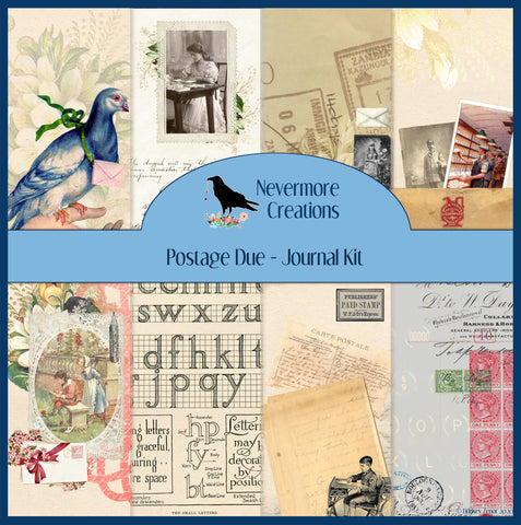 Postage Due PRINTED Journal Kit