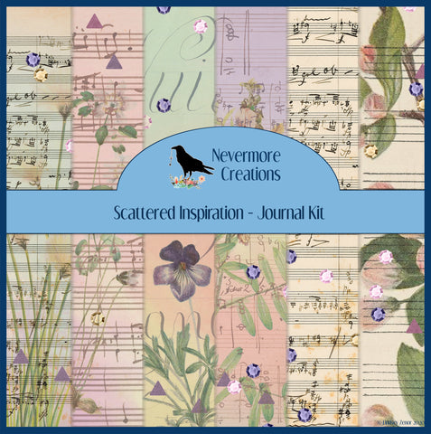 Scattered Inspiration DIGITAL Journal Kit - L&L
