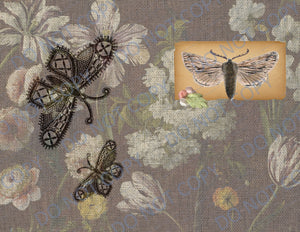 Workbasket Moths DIGITAL Journal Kit