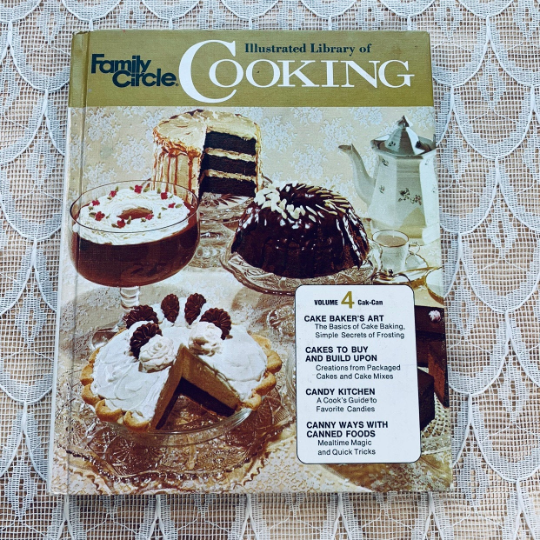 Family Circle Illustrated Library of Cooking volume 4 - LZ