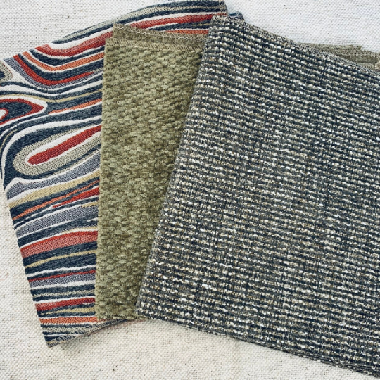 Fun Festival Upholstery Fabric set of 3 - JH