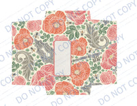 Secret Garden DIGITAL Stationery Set