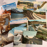 Bulk Vintage Postcard Lot #1 set of 12 -LZ