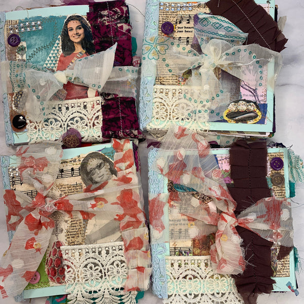 Tradition Junk Journals set of 4 by Sonali from India