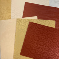 Rich & Regal Wallpaper Collection set of 6 - JH