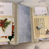 Christmas Slim 2 Junk Journal by Claire Hulott