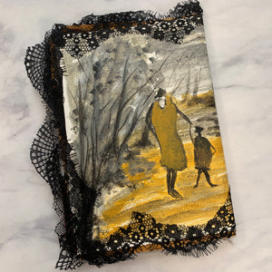 In the Woods Canvas Junk Journal by Sonali from India