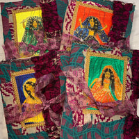 Indian Puppet Dolls Junk Journals set of 4 by Sonali from India