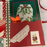 Merry Xmas Spiral Bound Junk Journal by Ms. Linda