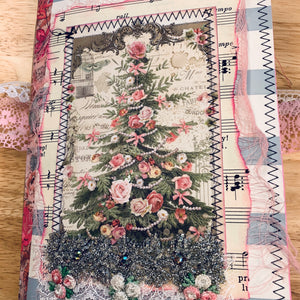 Pink Christmas Junk Journal by Kelsey Andrews