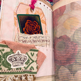 Boho Butterfly Junk Journal by Lisa Masquelier (Feb Challenge Journal)
