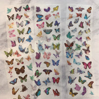 Butterfly Washi Stickers 6 sheets - LZ