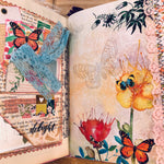 Butterfly Junk Journal by Kelsey Andrews