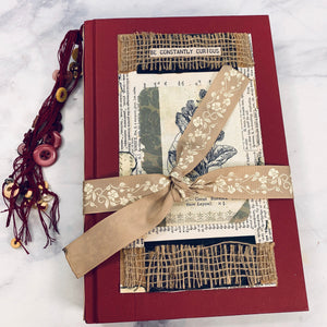 Rustic Nature Junk Journal by Tina McCall (January 2020 Challenge)