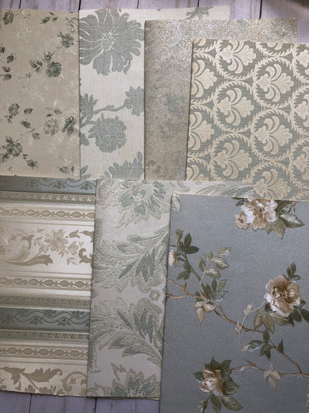 Soft Florals Wallpaper - JH
