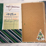 Merry Christmas Junk Journals set of 3 by Barbara Leventhal