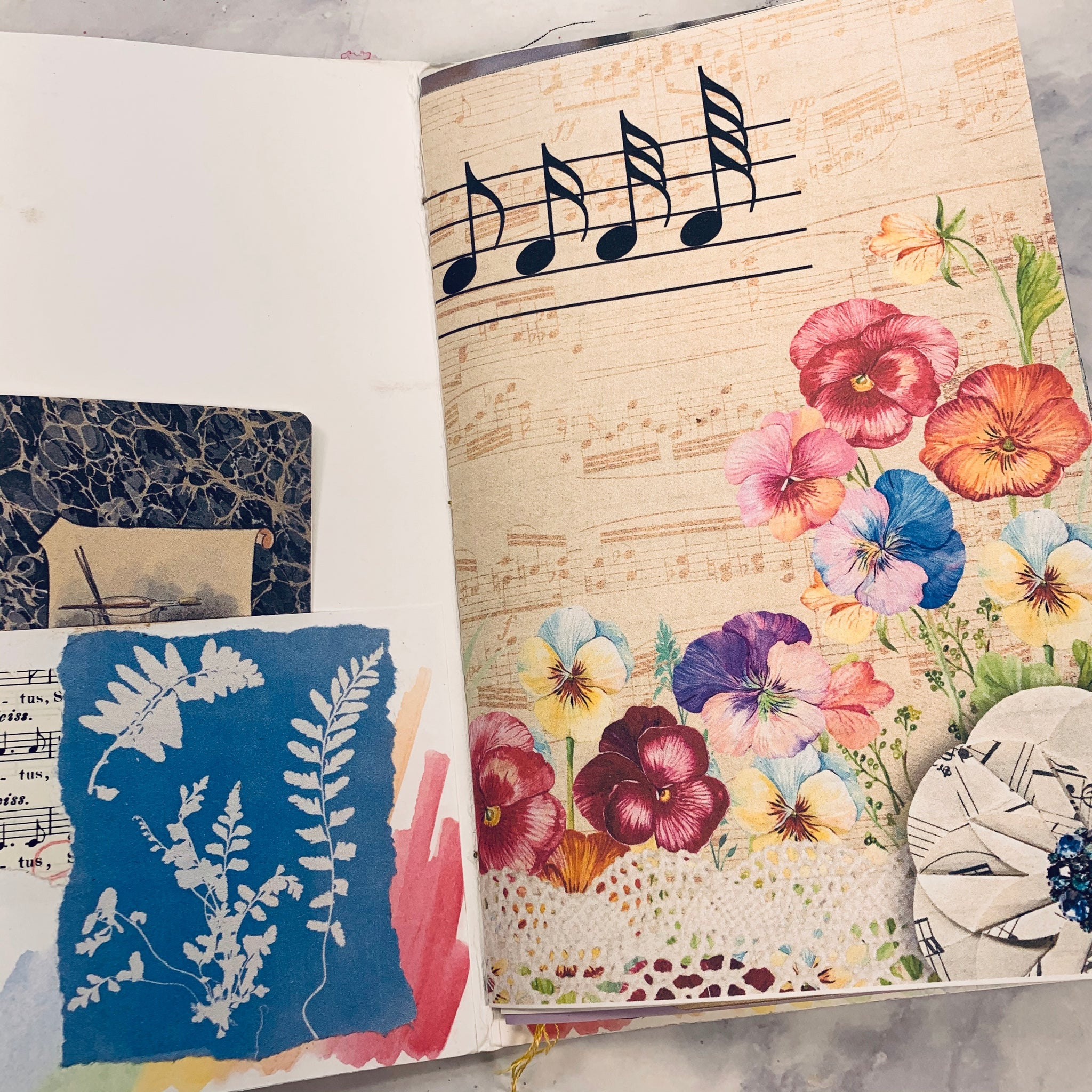 Song 2 Junk Journal by Barb Plude (March Challenge)